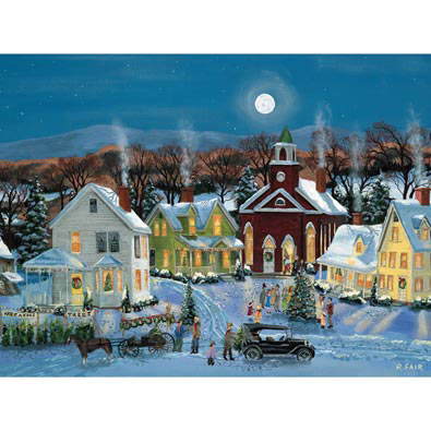 Oh Christmas Tree 500 Piece Jigsaw Puzzle