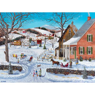 The Best Hill Ever 1000 Piece Jigsaw Puzzle