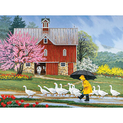 Puddle Jumpers 300 Large Piece Jigsaw Puzzle