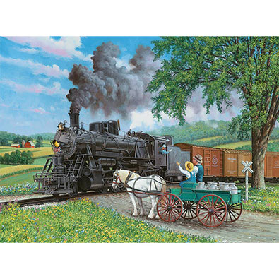 Horse Crossing 1000 Piece Jigsaw Puzzle