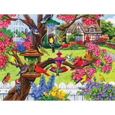 Bountiful Spring 300 Large Piece Jigsaw Puzzle