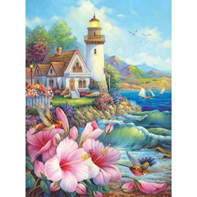 Beacon Of Hope 300 Large Piece Glitter Effects Jigsaw Puzzle