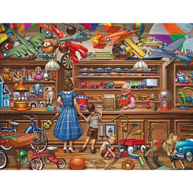 Vintage Toy Store 1000 Piece Jigsaw Puzzle