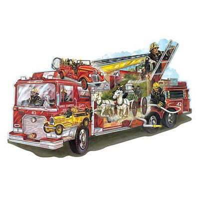 To The Rescue 300 Large Piece Shaped Jigsaw Puzzle