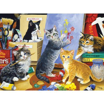 Studio Kittens 1000 Piece Jigsaw Puzzle