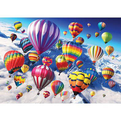 Above The Skies 500 Piece Jigsaw Puzzle