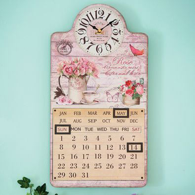 Rose Clock & Perpetual Calendar