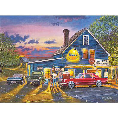 Taking The Back Roads 300 Large Piece Jigsaw Puzzle