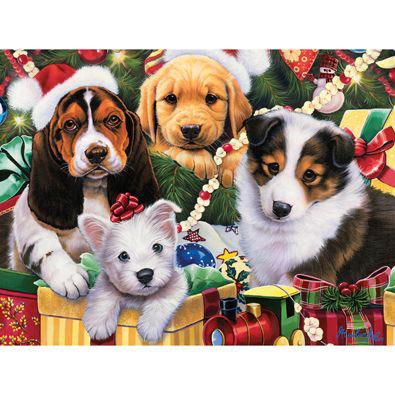 Puppy Surprise 300 Large Piece Jigsaw Puzzle