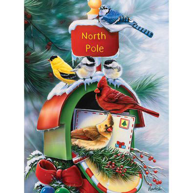 North Pole 300 Large Piece Jigsaw Puzzle