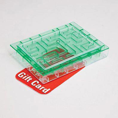 Gift Card Maze - Green