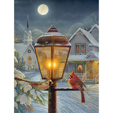Christmas Lights 300 Large Piece Jigsaw Puzzle