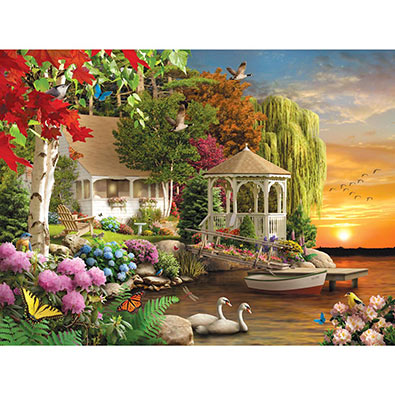 Heaven on Earth 500 Piece Jigsaw Puzzle