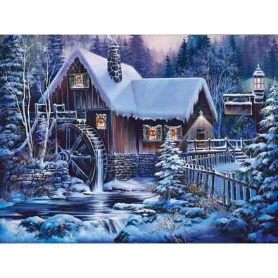 Winter Twilight 1000 Piece Jigsaw Puzzle