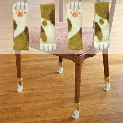 Cat Paw Chair Yarn Socks