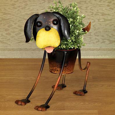 Beagle Fun Dog Planters