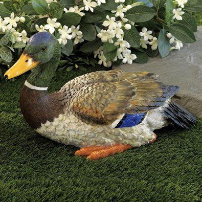 Mallard Duck Sculpture