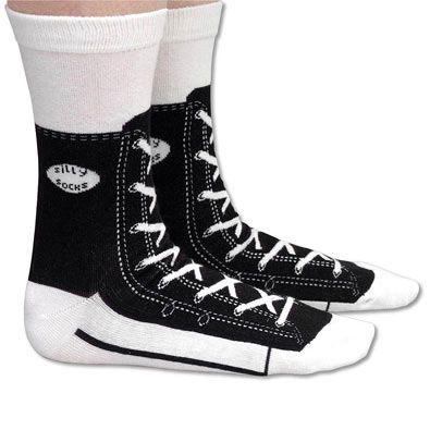 Black Sneaker Socks