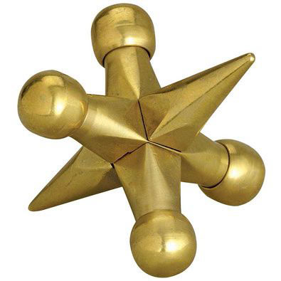 Brass Jax Metal Brainteaser