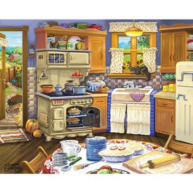 Country Kitchen 300 Large Piece Jigsaw Puzzle