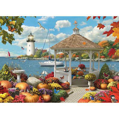 Autumn Splendor II 500 Piece Giant Jigsaw Puzzle