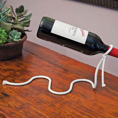 Magic Rope Wine Holder