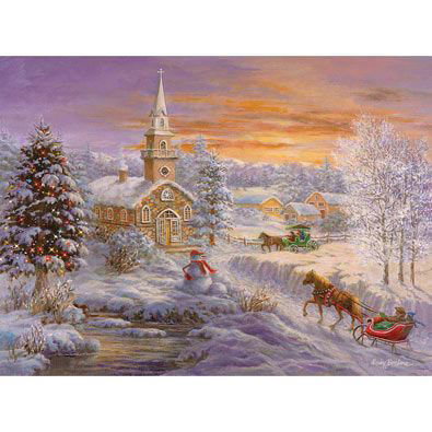 Holiday Worship 300 Large Piece Jigsaw Puzzle