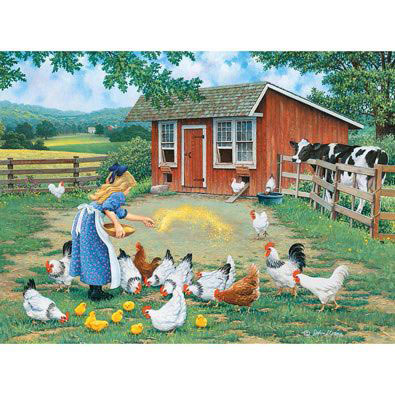 Gather Round 300 Large Piece Jigsaw Puzzle