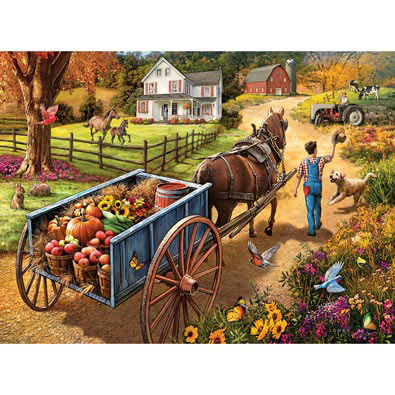 Bringing Home Supper 300 Large Piece Jigsaw Puzzle
