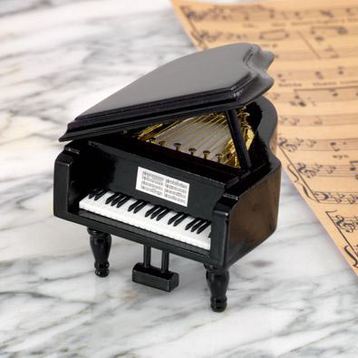 It's A Small World Grand Piano Music Box