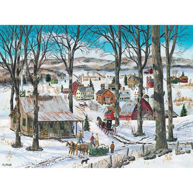 Sap To Syrup 500 Piece Jigsaw Puzzle