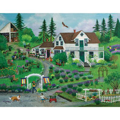 Cedarbrook Herb Farm 1000 Piece Jigsaw Puzzle
