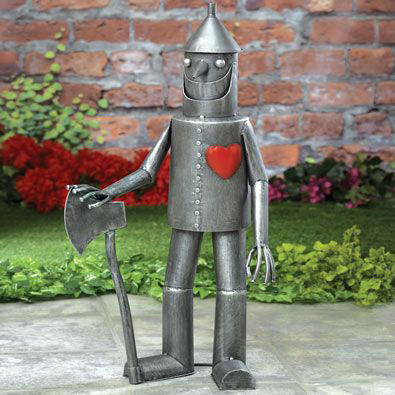 Tin Woodsman Garden Statue