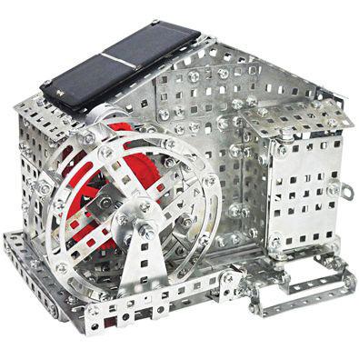 Solar Water Mill 597 Piece Metal Model Kit