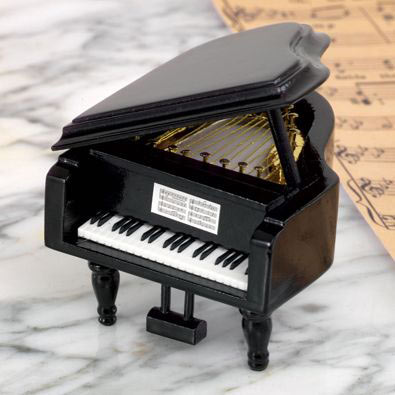Love Story Grand Piano Music Box