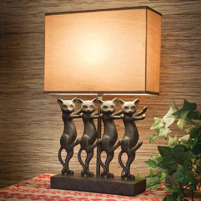 Dancing Cat Lamp