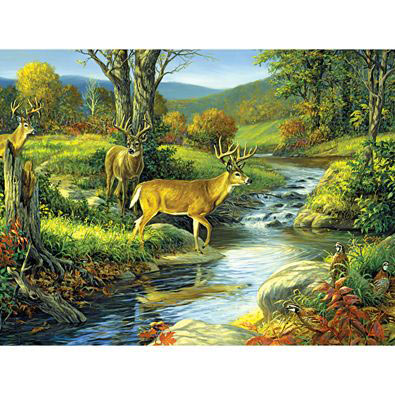 Four Of A Kind 500 Piece Jigsaw Puzzle