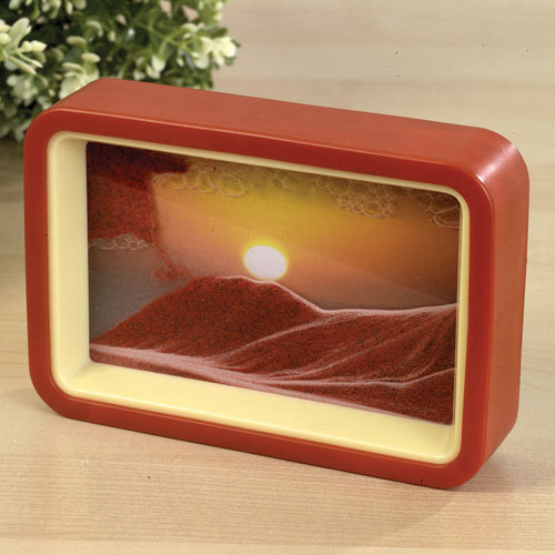 Sunset Sandscape Desk Accessory