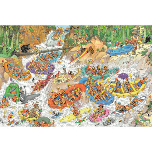 Wild Water Rafting 1500 Piece Jigsaw Puzzle