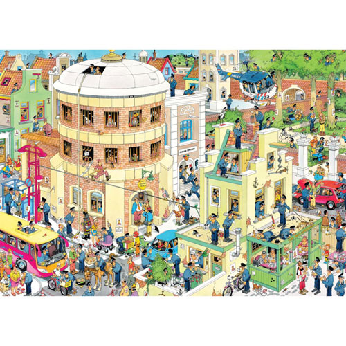 The Escape 2000 Piece Giant Jigsaw Puzzle