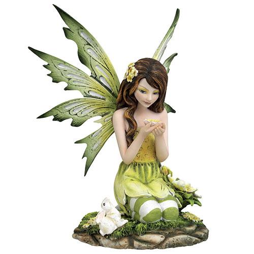 Kneeling Fairy Statue