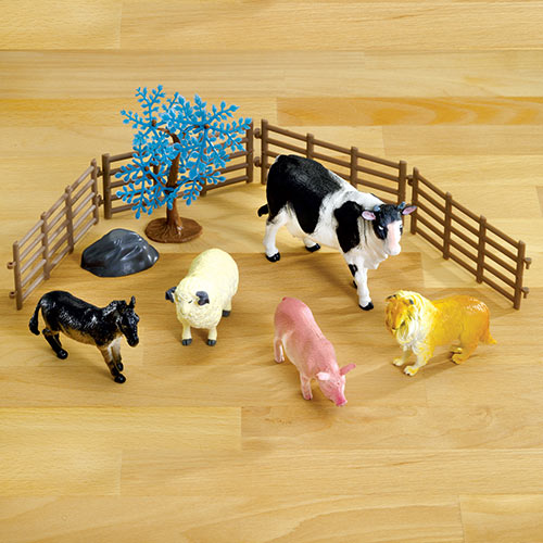 Farm Animals Play Set