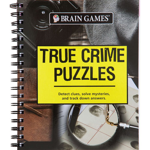 Crime Puzzle Books- True Crime