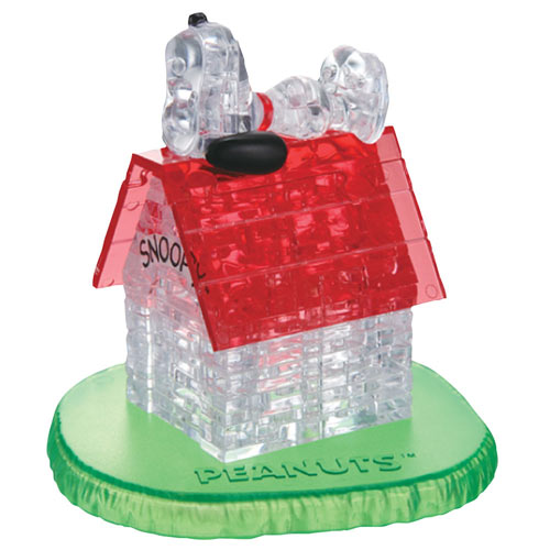 Snoopy's Doghouse Peanuts® 3D Crystal Puzzle