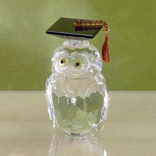 Crystal Graduation Owl