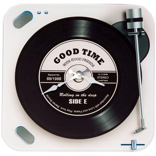 Record Player Clock