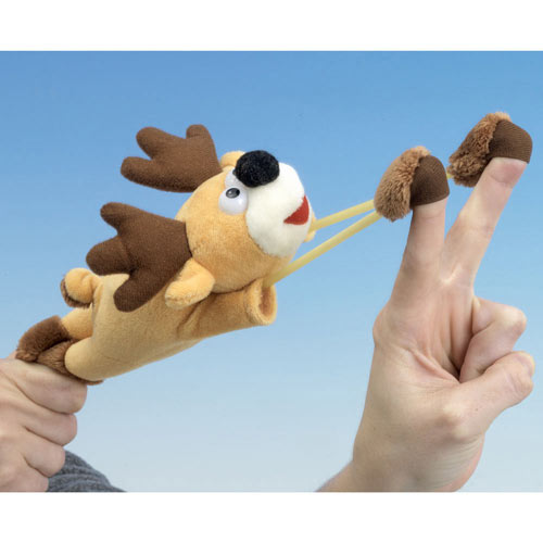 Flying Reindeer Plush Toy