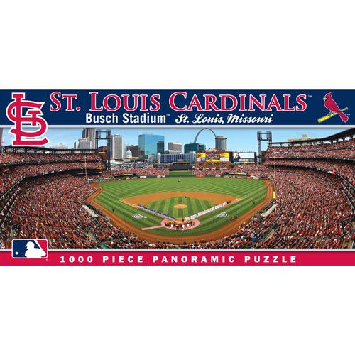 Busch Stadium (Cardinals) 1000 Piece Panoramic Jigsaw Puzzle