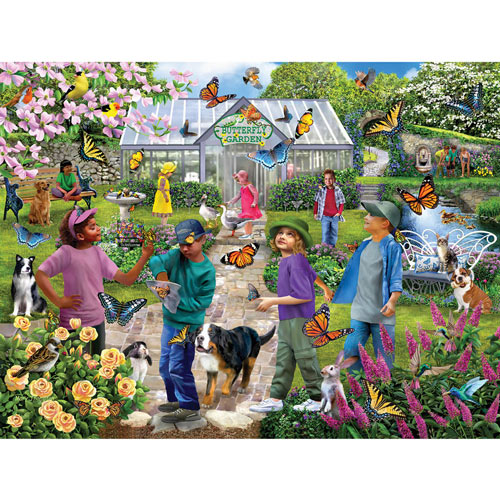 Chores on the Farm 500 Piece Jigsaw Puzzle