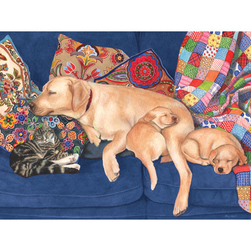 Snooze Time 500 Piece Jigsaw Puzzle